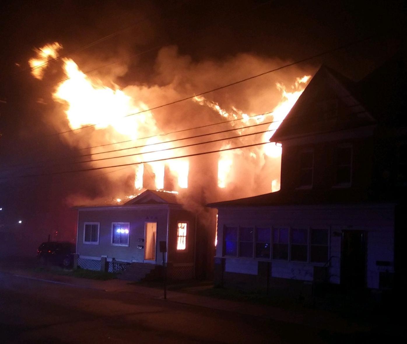 High Street house fire