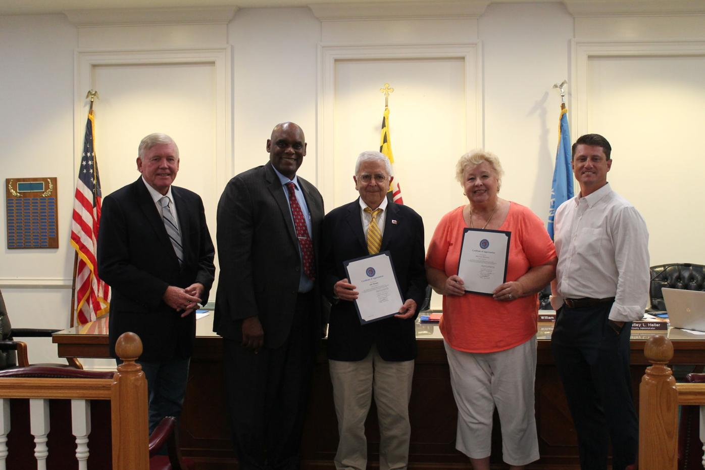 Pet trailer donors recognized