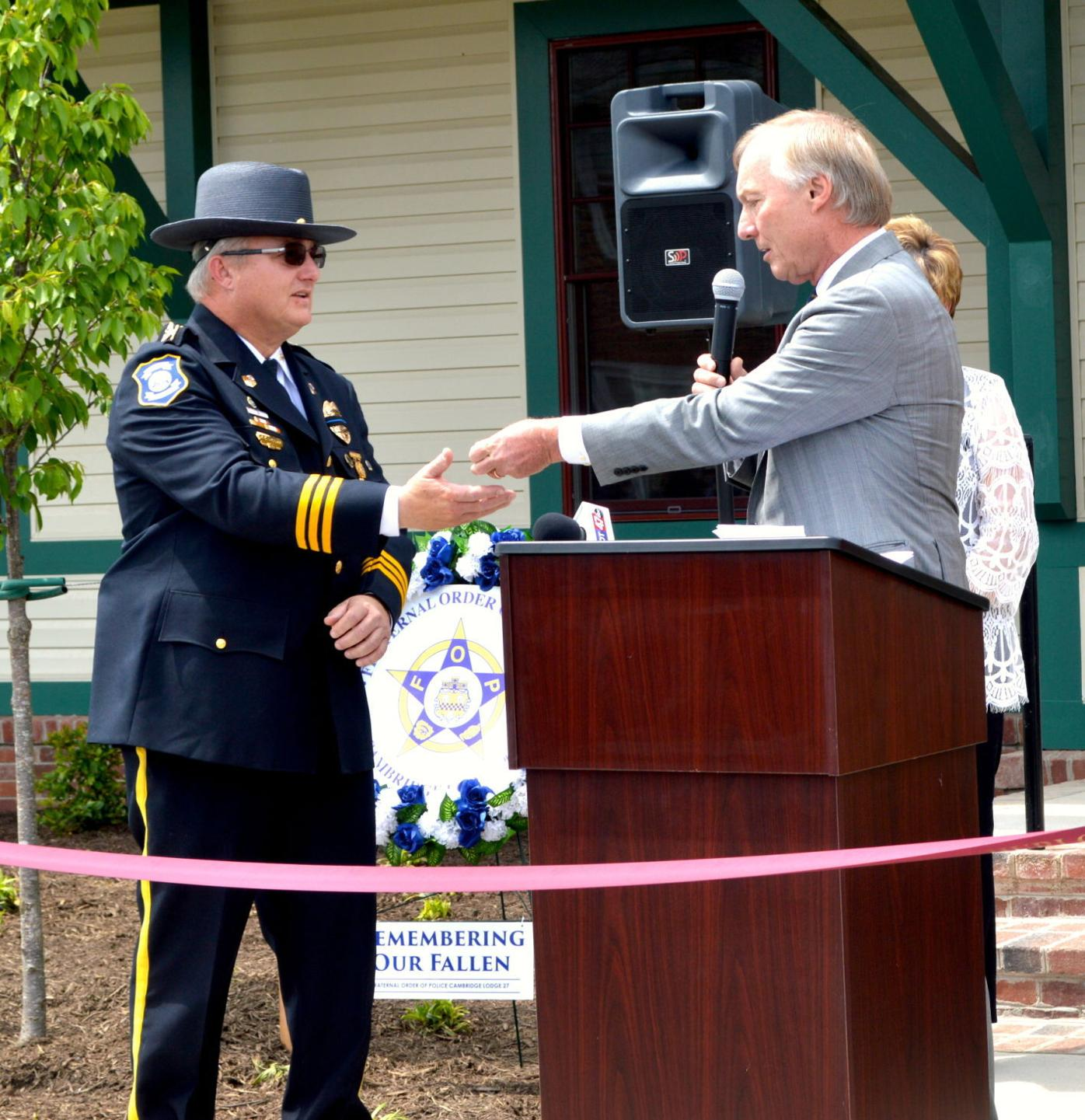 Hurlock Police Department Grand Opening
