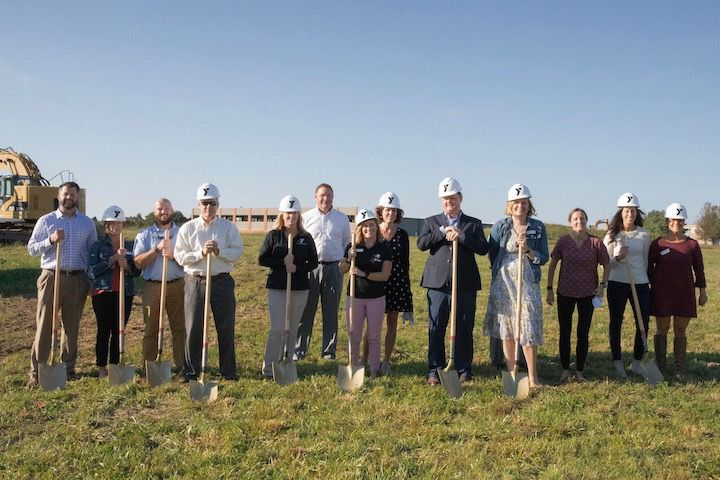 Ground is broken for YMCA in Chestertown