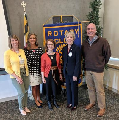 Early Learning Center leaders join Rotary for meeting