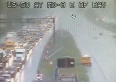 Route 50 west backup cleared