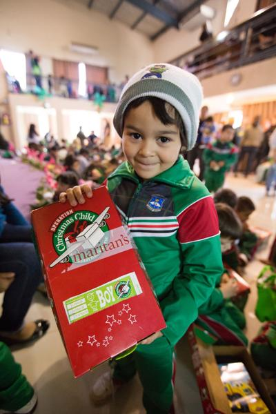 Curbside drop-off sites open for Operation Christmas Child