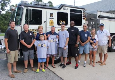 Rescue victim says thank you to GVFD