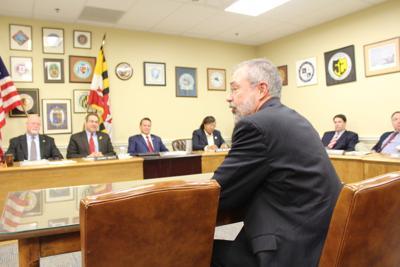 Andy Harris visits Eastern Shore delegation