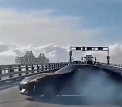 Police charge driver suspected of doing donuts on Bay Bridge
