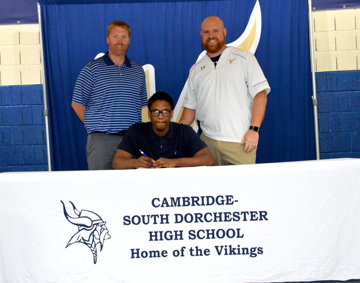Cambridge-South Dorchester High School Signing Day