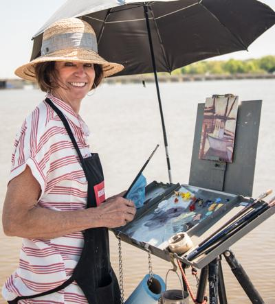 Artists coming to 'Paint the Town' April 25-28