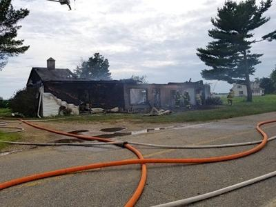 2 alarms sounded for structure fire on Old Locust Grove Road