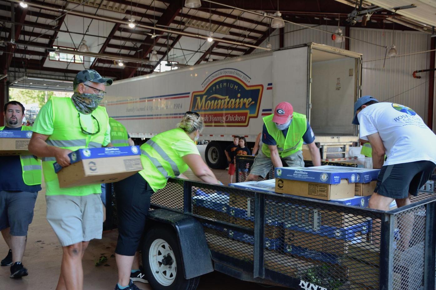 RHVFC's chicken fundraiser helps to feed county seniors