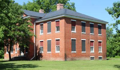 Old Academy School building on Mill Street