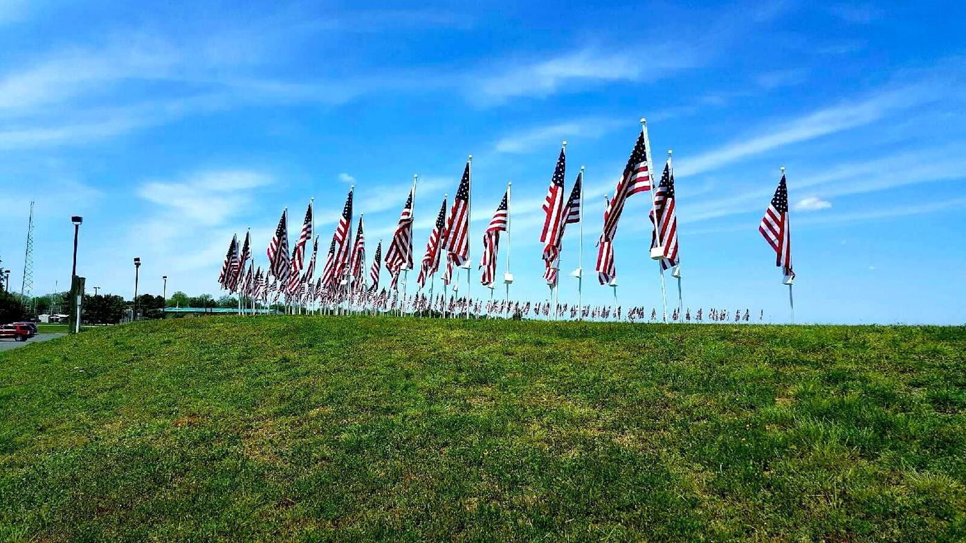 Cambridge Flags for Heroes