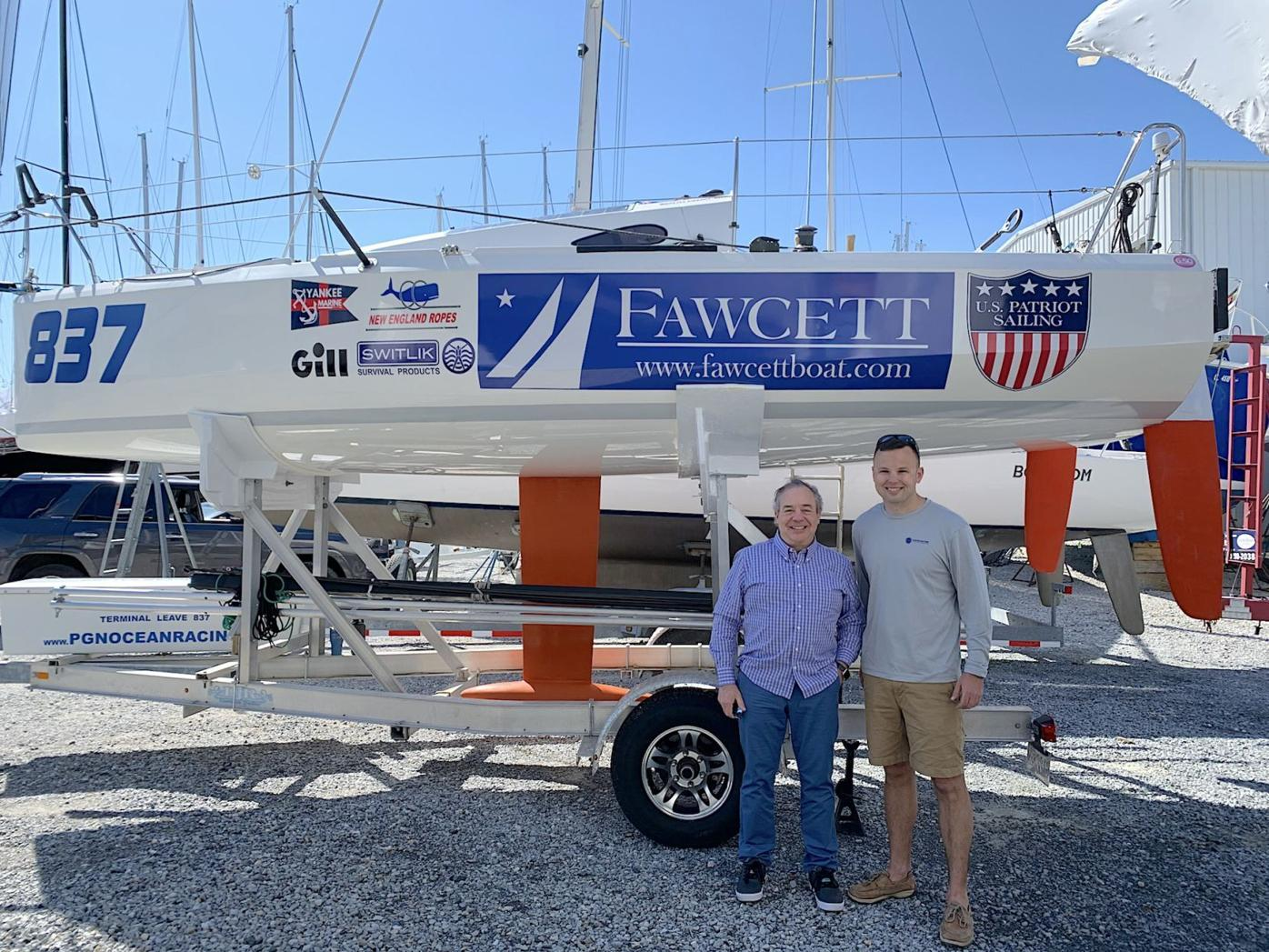 U.S. Marine set to sail across Atlantic