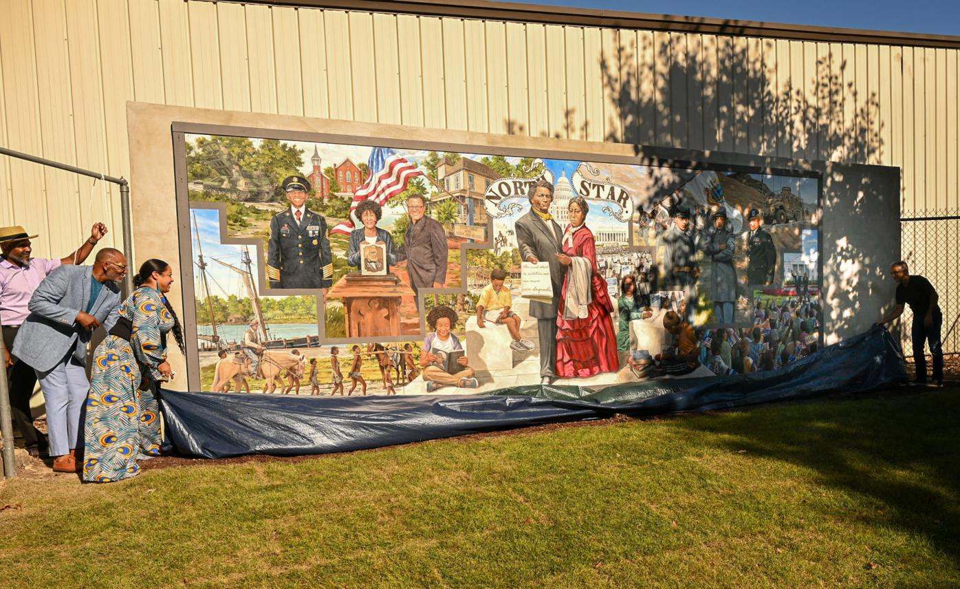 Frederick Douglass mural unveiled in Easton