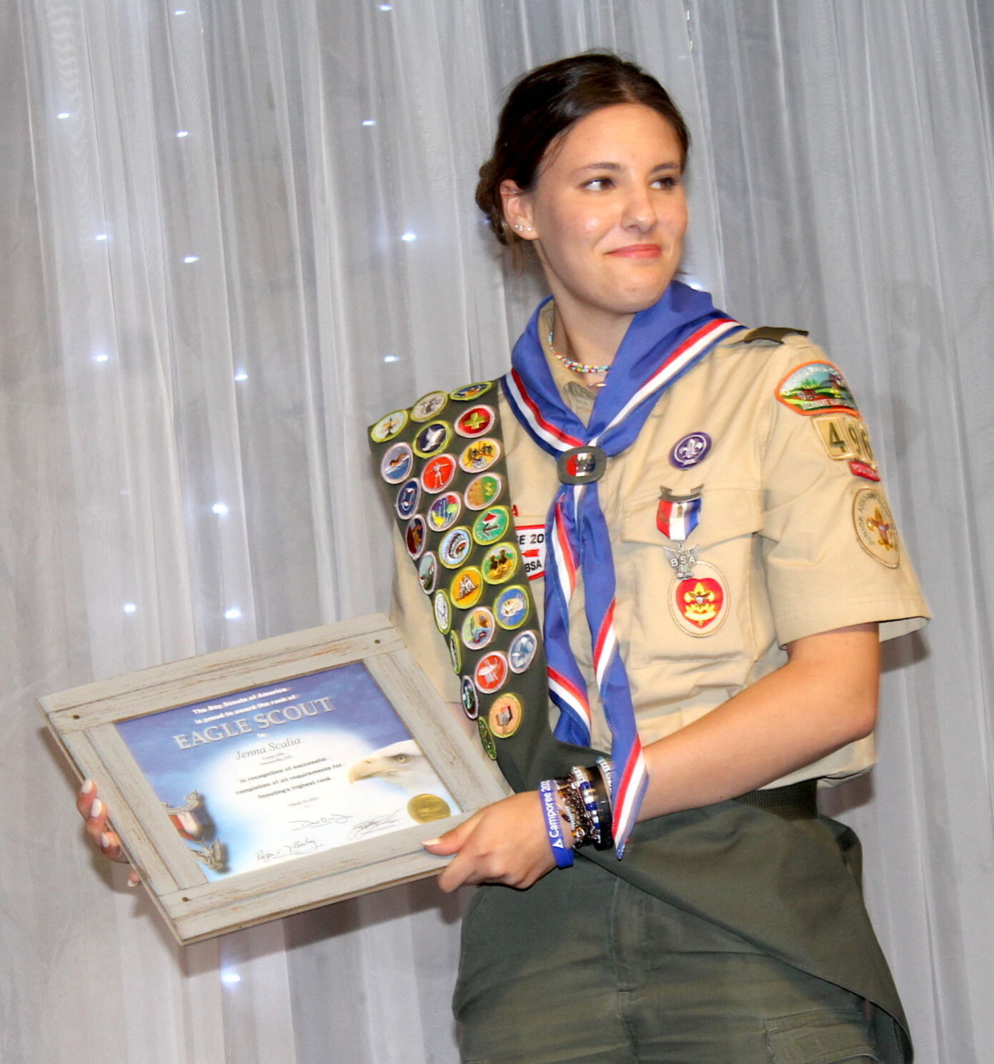 Scalia Eagle Ct of Honor '21