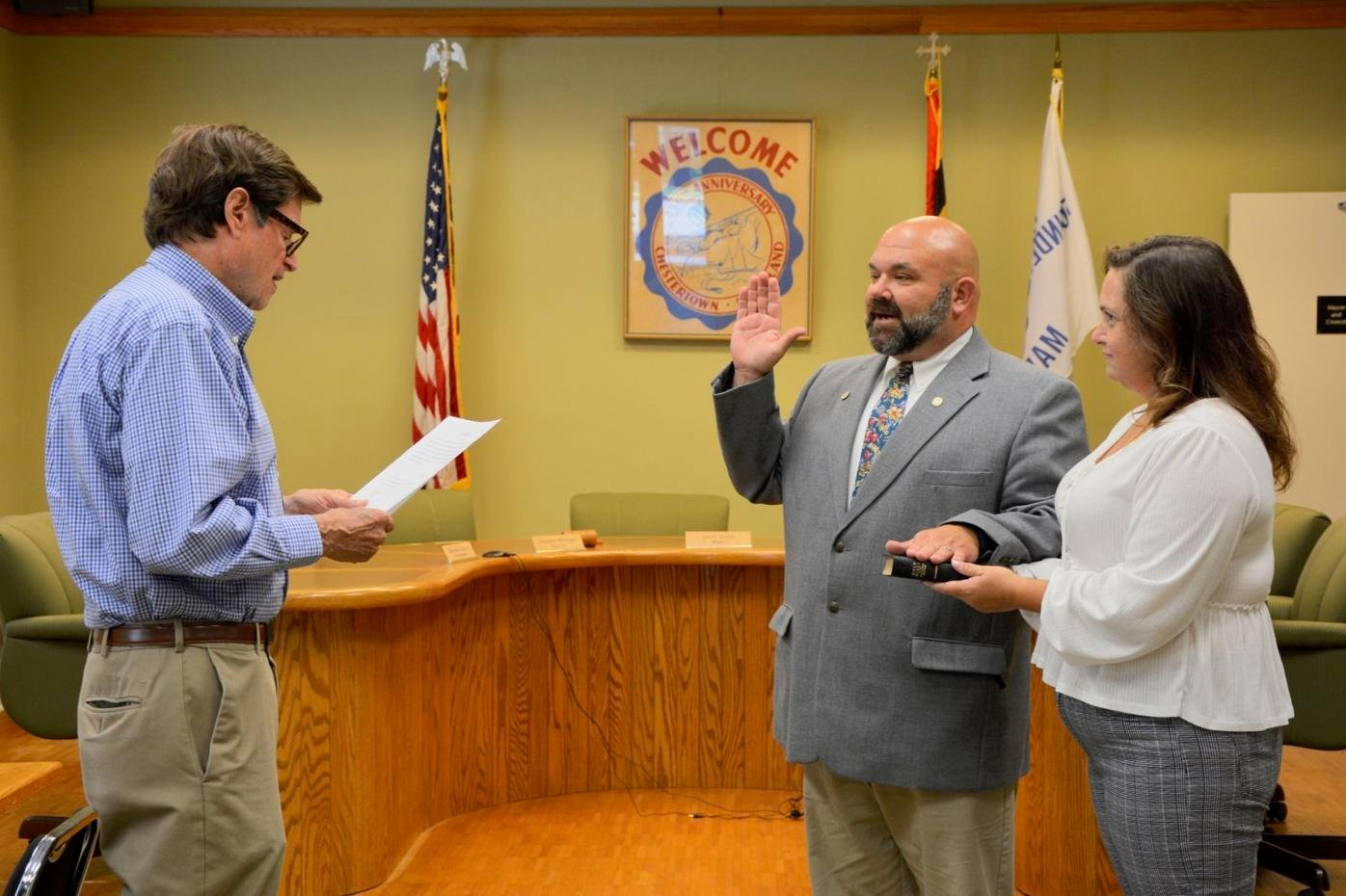 Caroline County native is Chestertown's new police chief