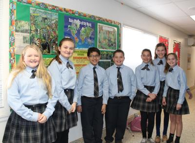 SSPP students create classroom rain forest