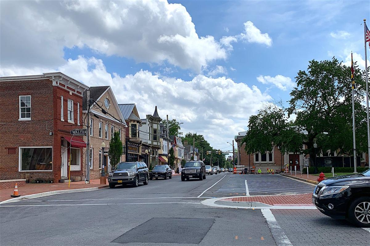Work begins to repave Commerce and Liberty streets