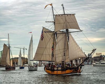 Sultana, Pride of Baltimore II are co-winners of Bay schooner race