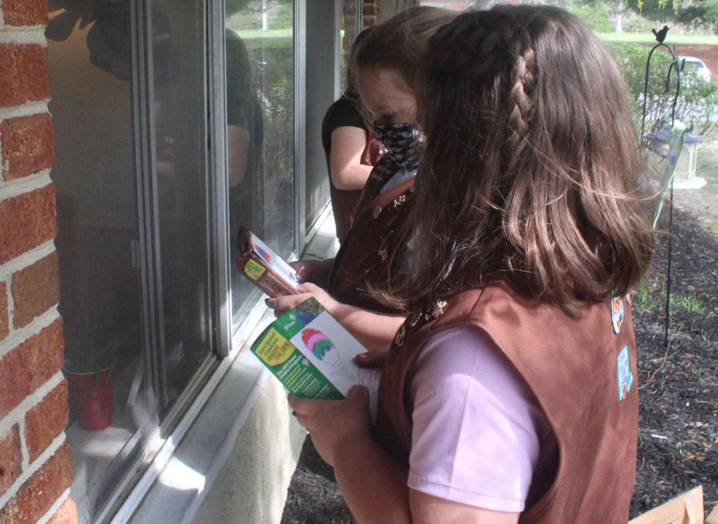 Girl Scouts bring cookies and cheer to nursing home residents