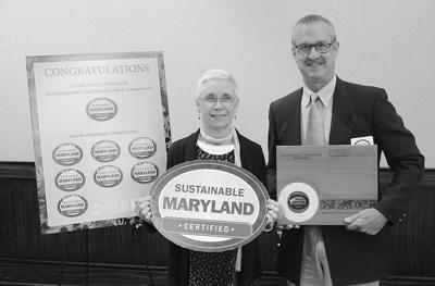Chestertown receives Sustainable Maryland Certified Award
