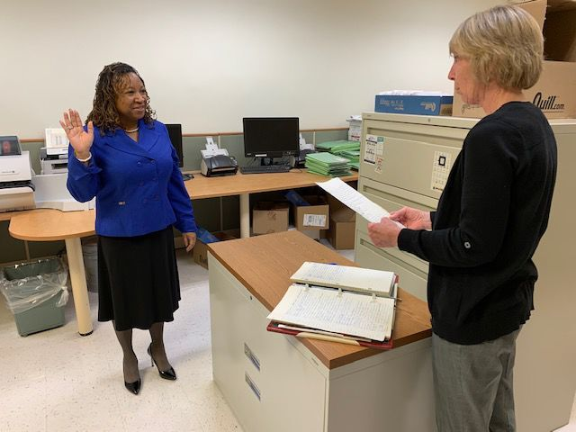 Savannah Winston elected as Preston Town Commissioner