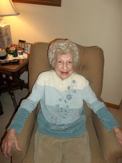 Mary Lou Walters turns 100