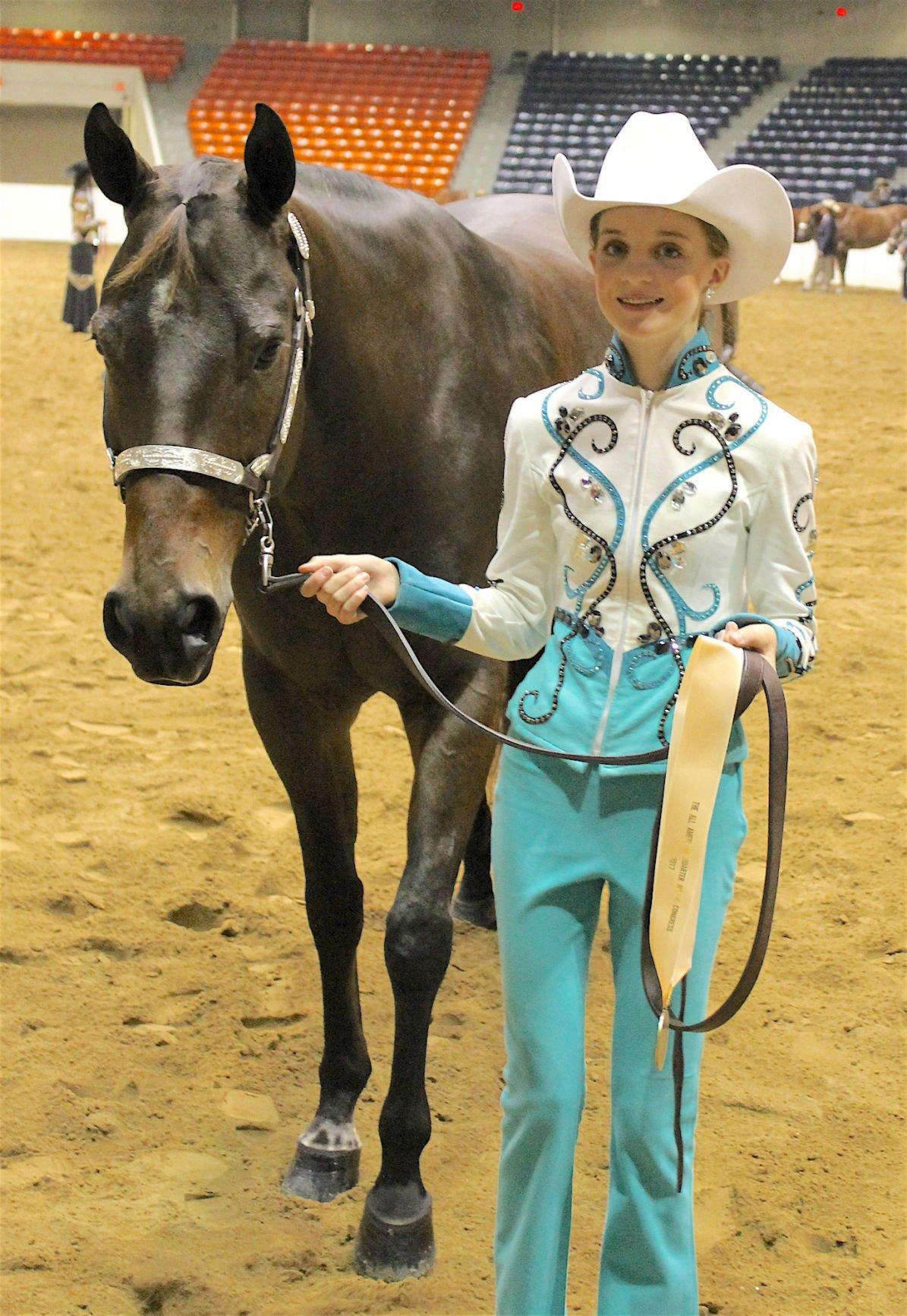 local equestrians attend quarter horse congress   spotlight