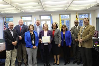 Dorchester County Council honors teacher of the year