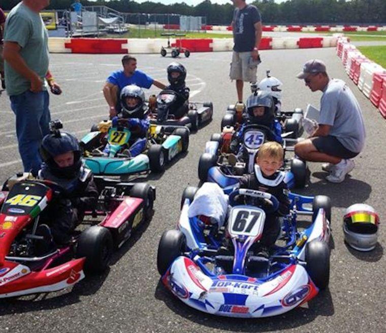Stevensville boy races go-karts   Queen Annes County ...