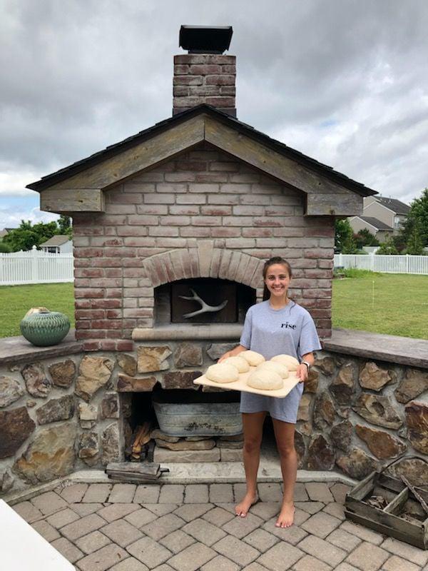 Student starts sourdough bread business