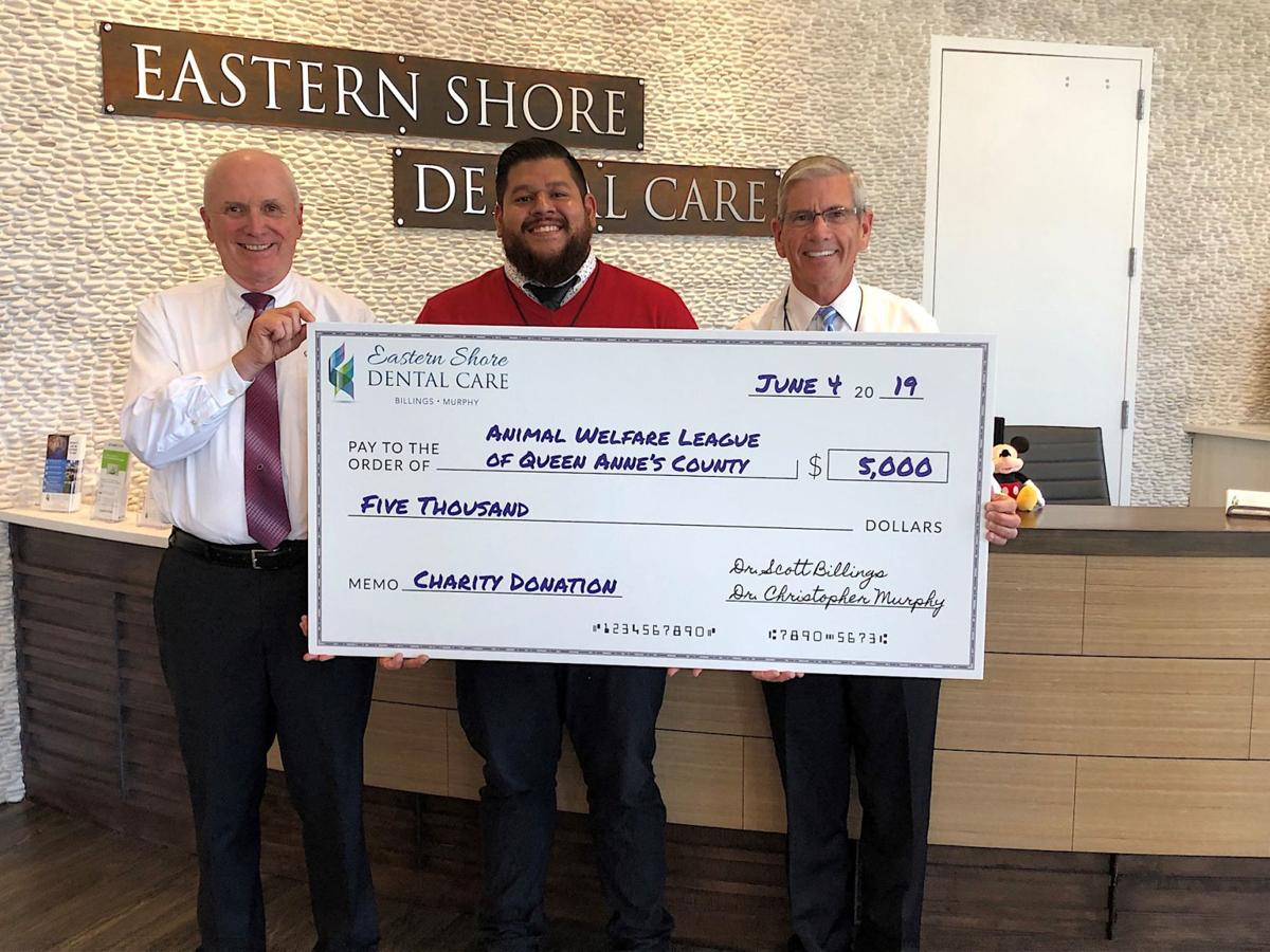 Eastern Shore Dental Care donates to local charities
