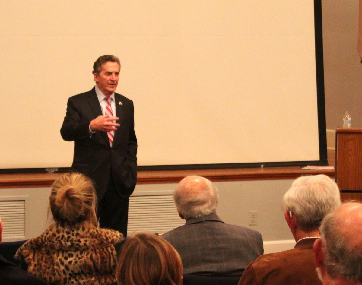 """Former senator and author Jim DeMint talks about his new book """"""""Conservative: Knowing what to Keep."""""""