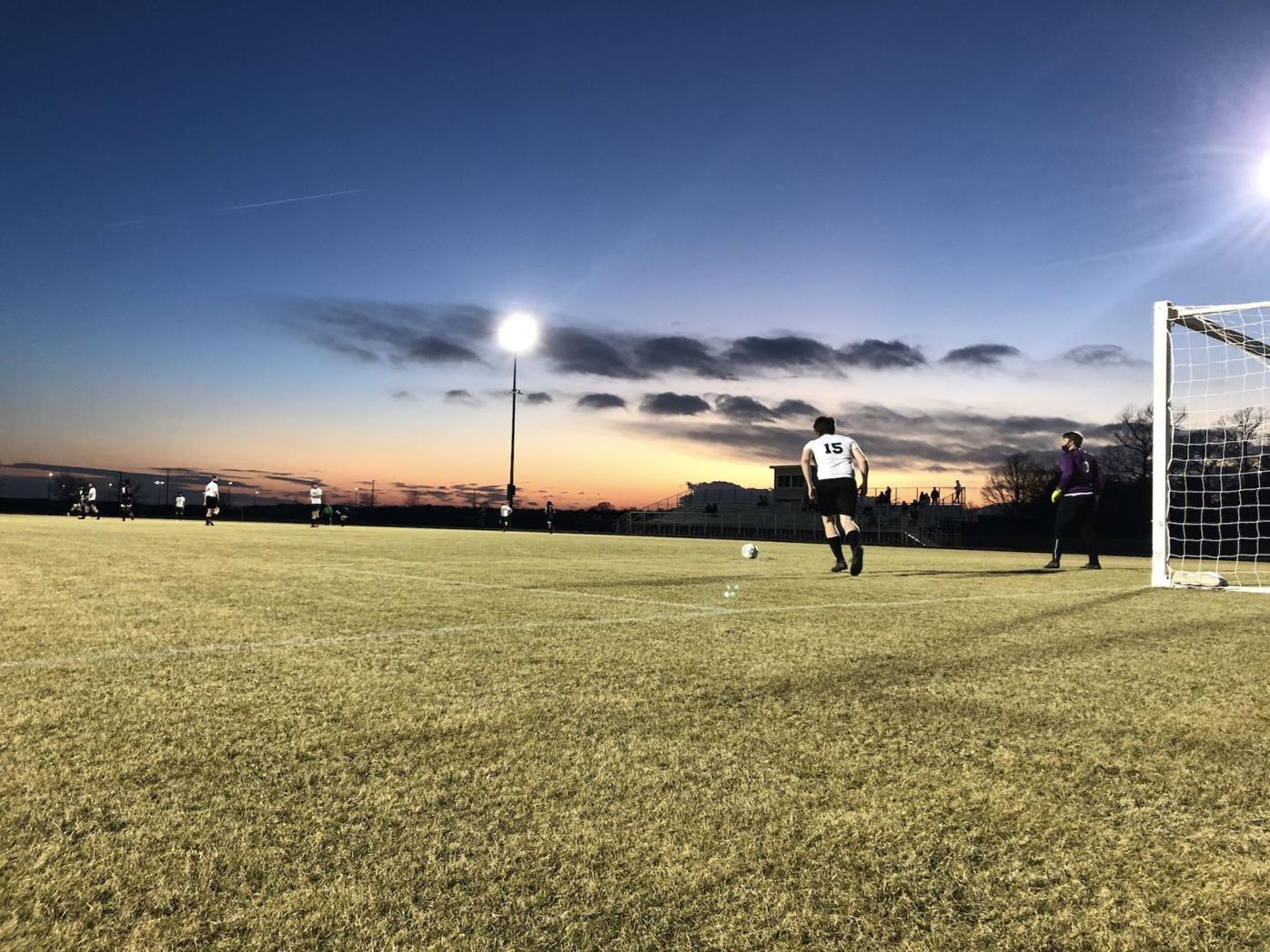 NDHS vs. St. Michaels Soccer Goal Kick