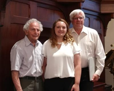 Sarah Parker awarded first Sam Scalzo music scholarship