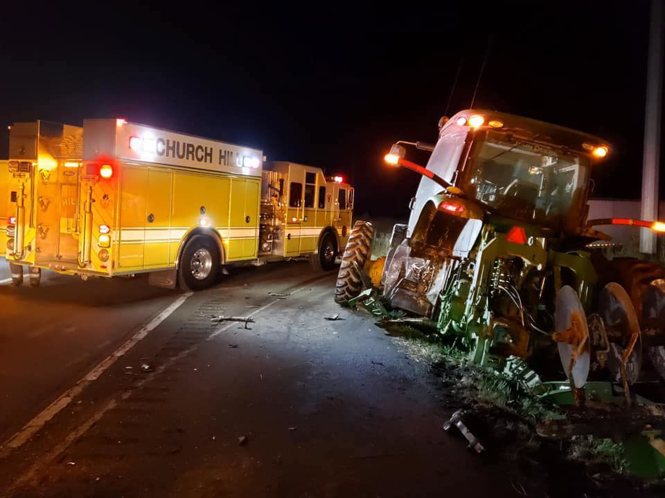 Early morning accident on US 301