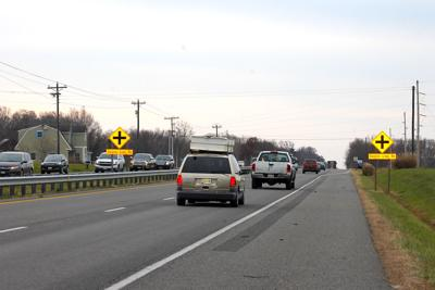 Four-vehicle head-on collision on Route 50