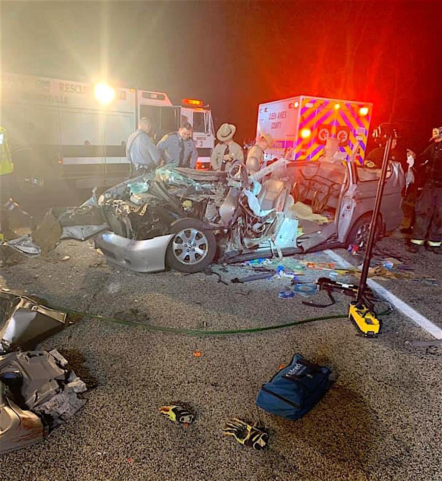 Route 301 Crash