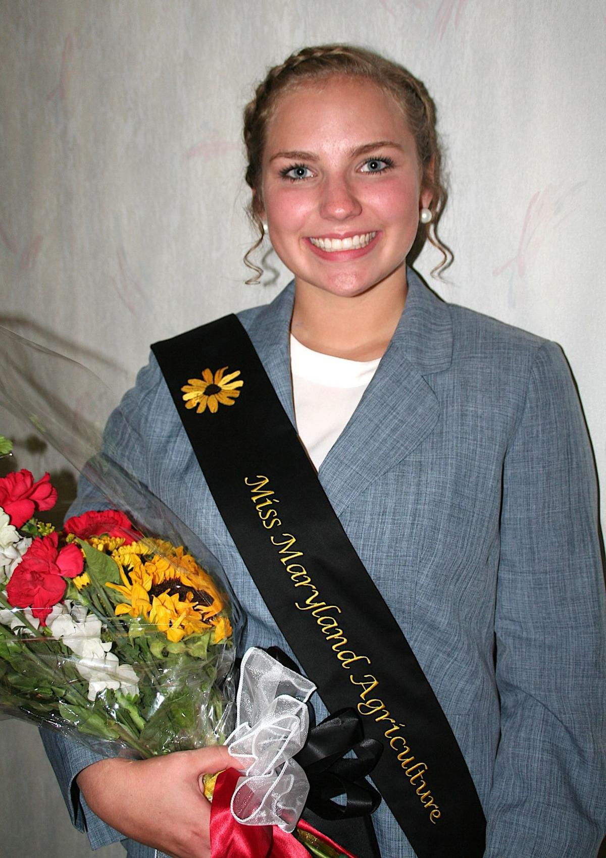 Miss Maryland Agriculture 2018 Bailey Riggs