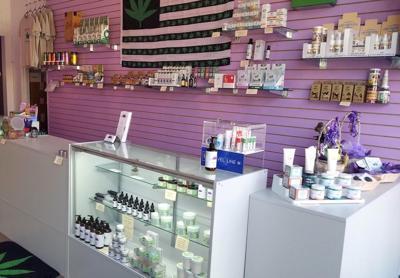 Purple Peake offers hemp products to promote good health