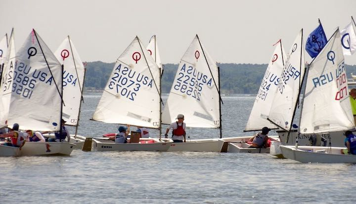 Rock Hall S Regatta For Junior Sailors Draws Fleet Of 98 Boats