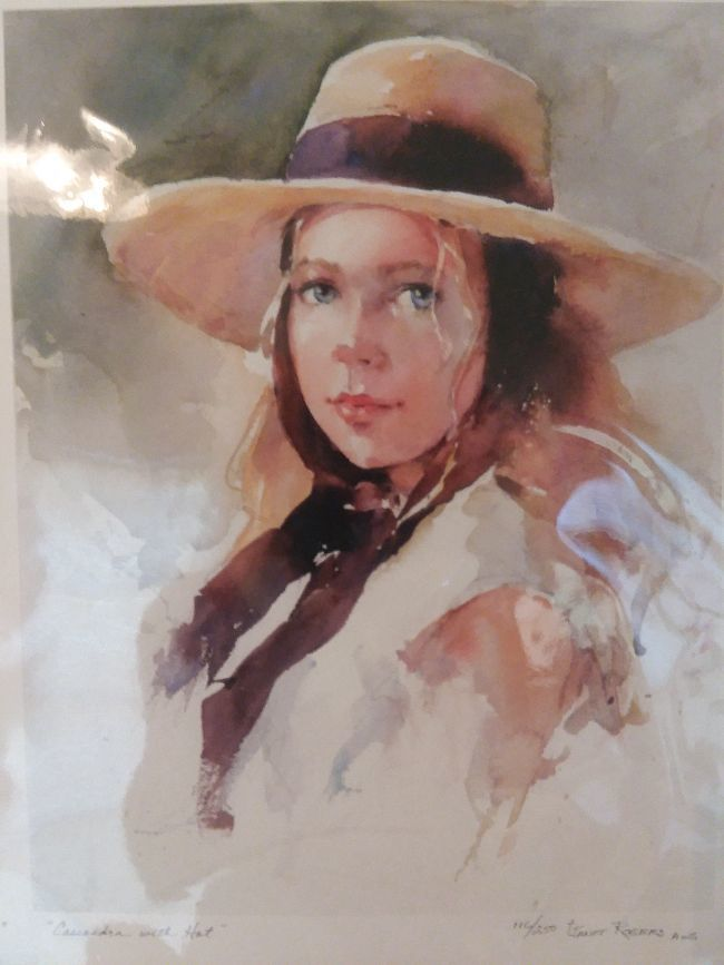 A Watercolor by Janet Rogers