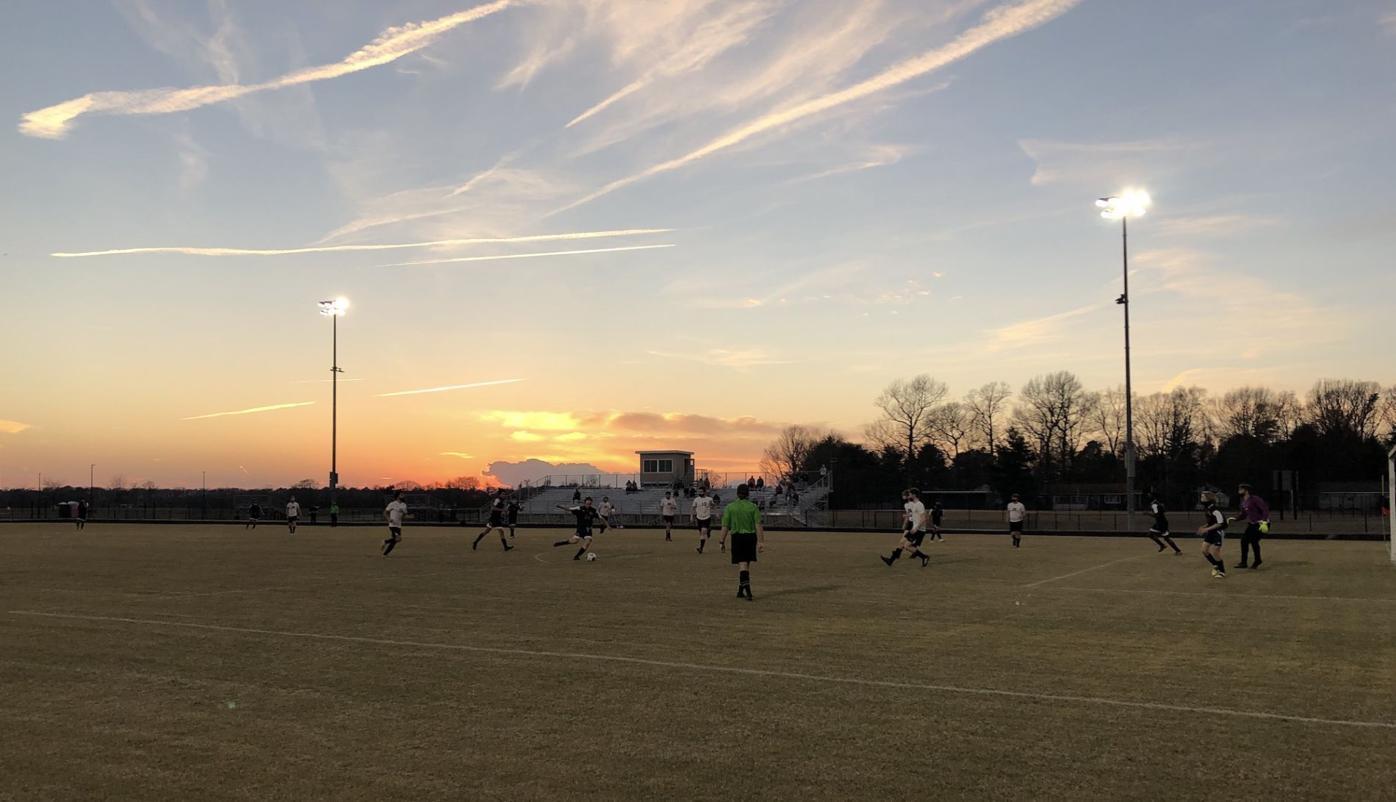 NDHS vs. St. Michaels Soccer Sunset