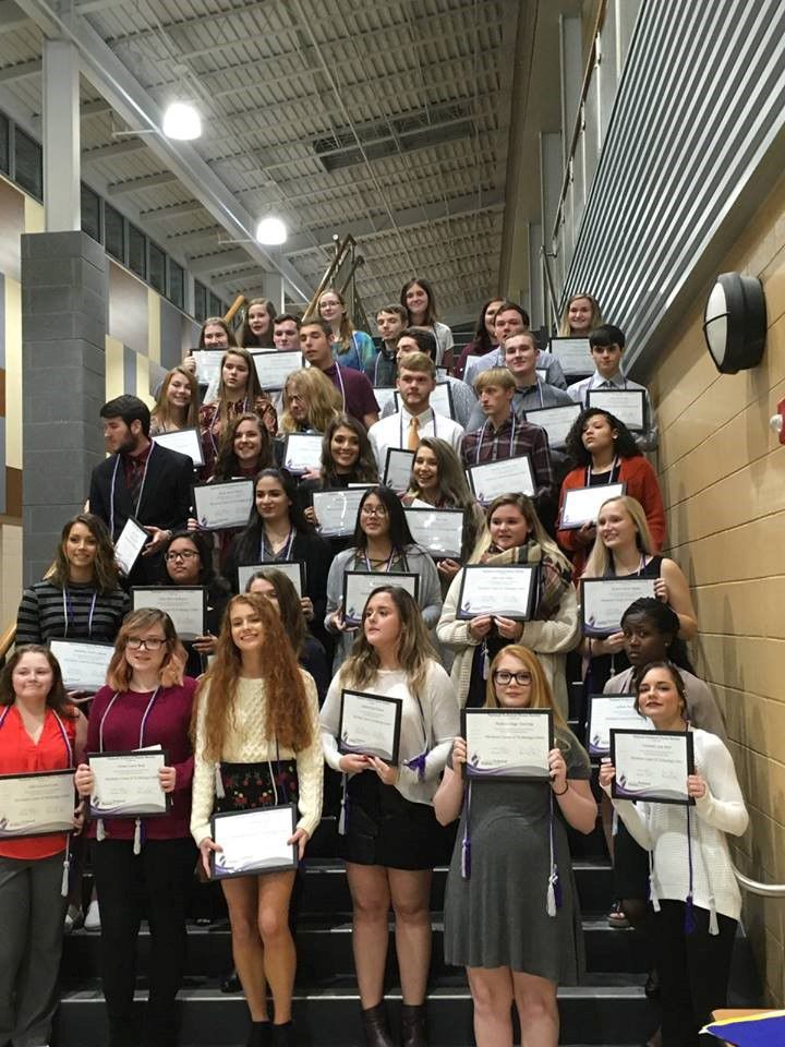 Dorchester students inducted into the National Technical Honor Society