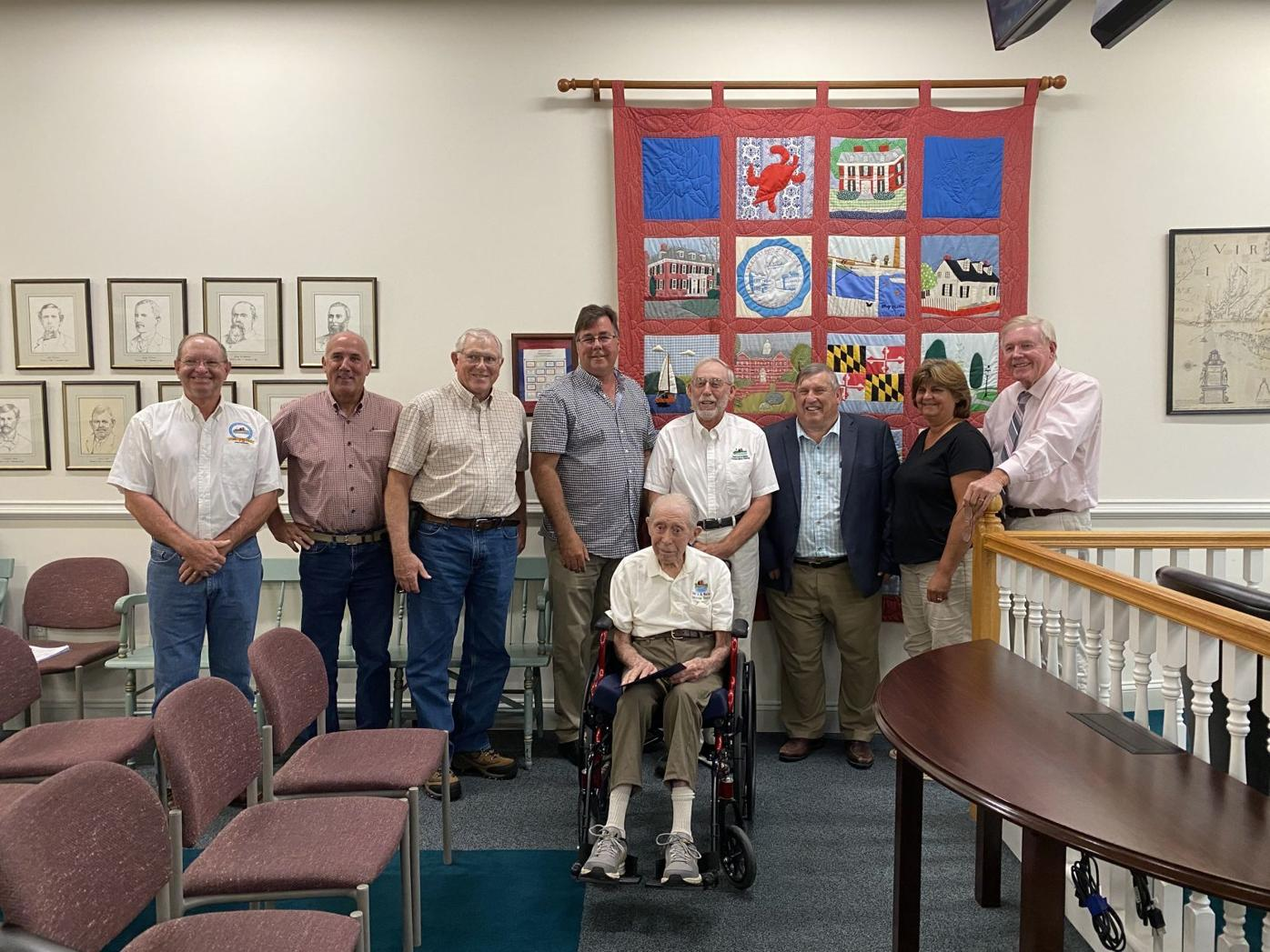 Westcott recognized for 52 years of service