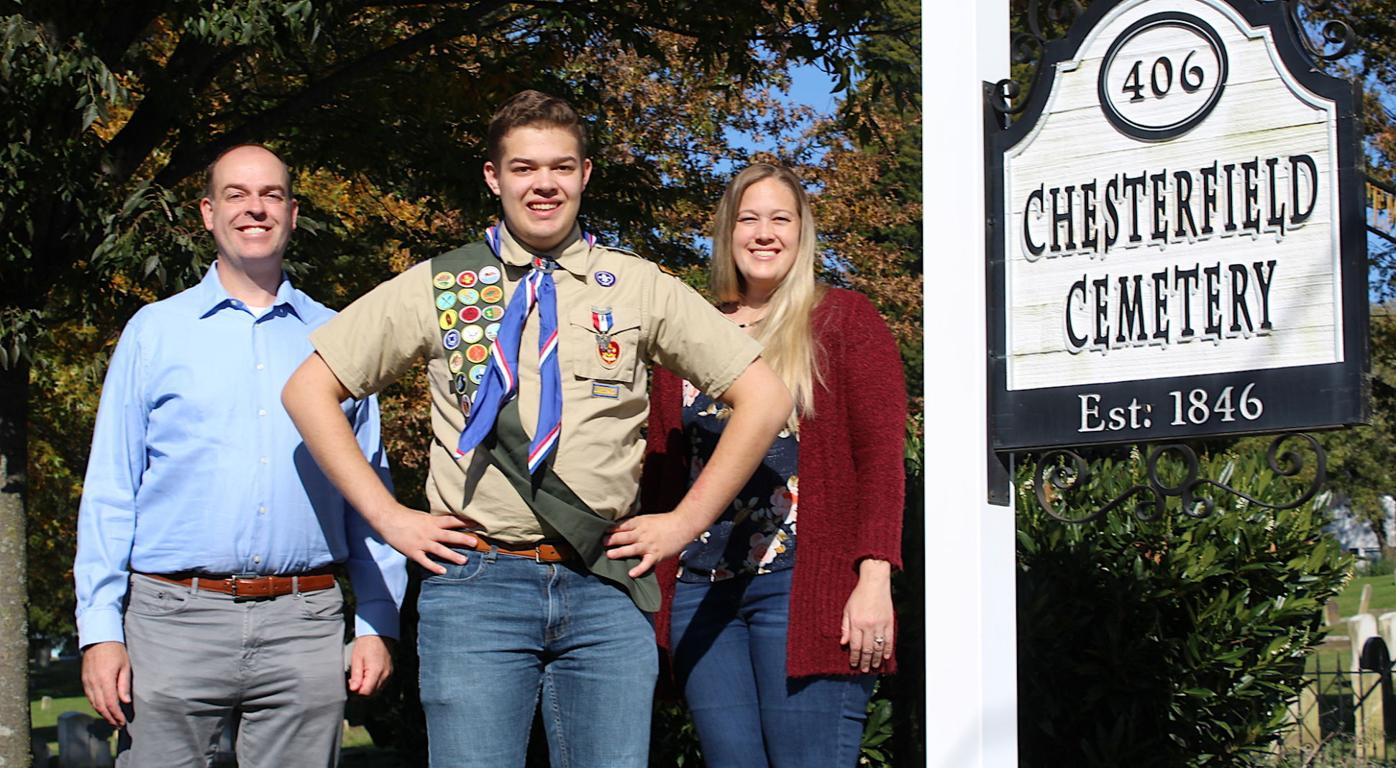 Eagle Scout Tim Weibell '20