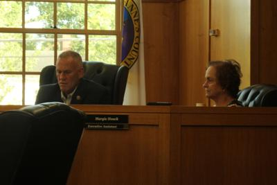 Commissioner Jack Wilson during July 13 meeting