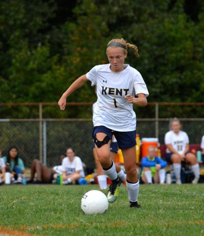 Pinder's overtime goal completes Kent's sweep in soccer