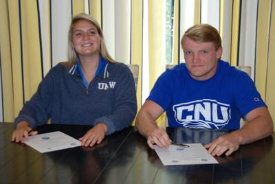 2 from Gunston commit to playing college lacrosse