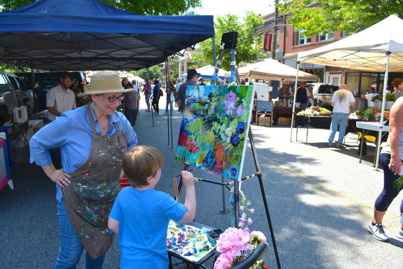 RiverArts hosts Paint the Town Plus